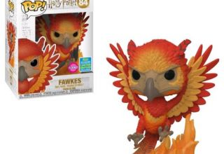 Figurine-Funko-POP-Harry-Potter-Fawkes-Flocked-Exclusivite-Fnac